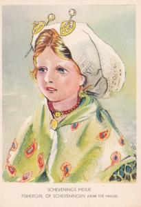 Netherlands Schenenings Meisje Fishergirl Of Scheveningen Costume