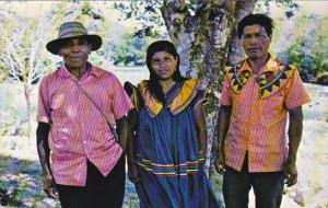 Panama Guaymi Indians Of Tole Province Of Chiriqui