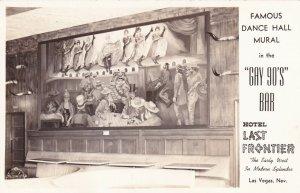 RP: LAS VEGAS, Nevada, 1950s; Hotel Last Frontier, Famous Dance Hall Mural