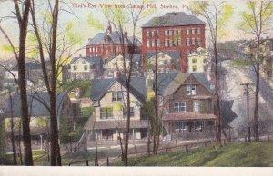 STEELTON , Pennsylvania , 1900-10s ; From Cottage Hill