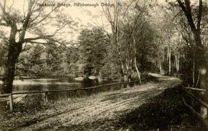 NH - Hillsboro Bridge. Hubbards Bridge, 1909
