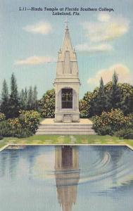 Hindu Temple , Florida Southern College , LAKELAND , Florida , 30-40s