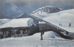 Winter in Riezlern Ifer-Alpe mit Hoch-Ifer