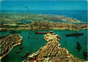 CPM AK The Grand Harbour MALTA (881583)