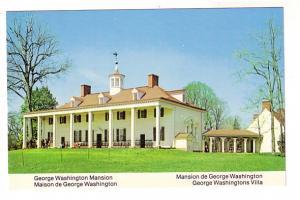 George Washington Mansion, Mt Vernon, Virginia
