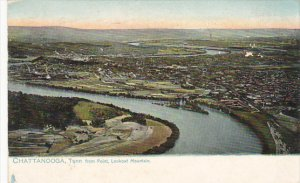 Chattanooga Tennnessee From Point Lookout Mountain 1907 Tucks