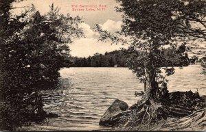 New Hampshire Squam Lake The Swimming Hole 1911