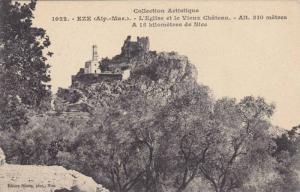 EZE, L'Eglise et le Vieux Chateau, Alpes Maritime, France, 00-10s