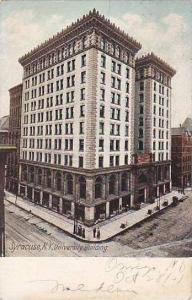 New York Syracuse University Building 1907