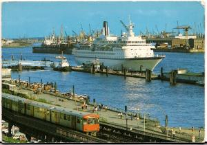 Hamburg - Passenger Ship - Post Card - Unused