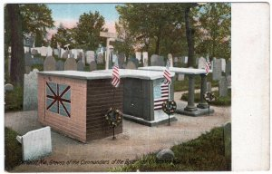 Portland, Me, Graves of the Commanders of the Boxer and Enterprise
