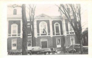 LPSS03 St. Albans Vermont Franklin County Court House Postcard RPPC