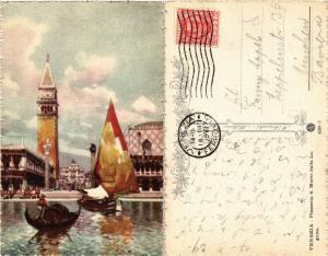 CPA Venezia Piazzetta S. Marco dalla Laguna. ITALY (449692)