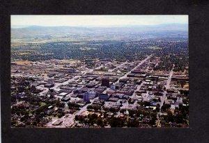 WA View city Yakima Washington State Postcard Bldgs Stores