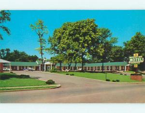 Unused 1950's OLD CARS & OLD KENTUCKY HOME MOTEL Bardstown Kentucky KY s4635-12