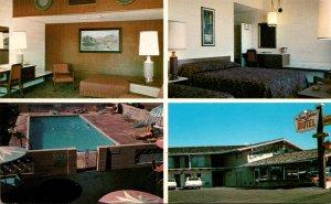 New Mexico Santa Fe The Lamplighter Motor Inn