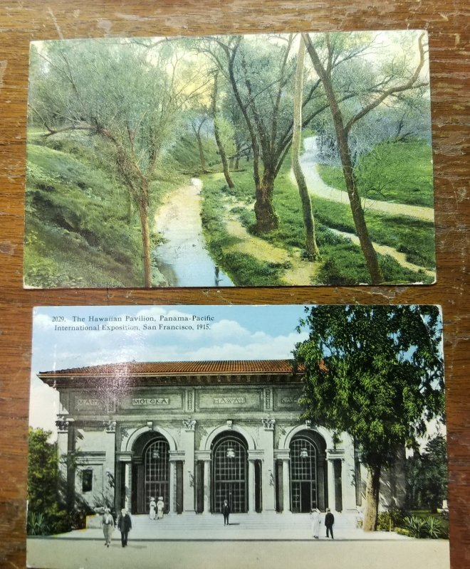 2 Early 1900's Post Cards