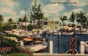 Florida Dania Yacht Club Curteich