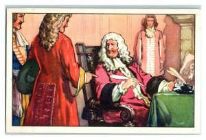 General Who has Washed Himself, Famous Anecdotes, Echte Wagner German Trade Card