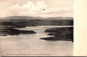 New York Lake Champlain Looking South From Point Defiance 1910