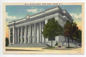 Wilson County Court House, Wilson,  North Carolina, 30-40s