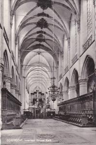 RP: DORDRECHT, Interieur Groote Kerk, South Holland, Netherlands, 20-30s