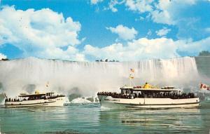 Canada Maid of the Mist Niagara Falls Boats