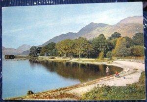 Scotland Loch Lomond at Rowardennan - unposted