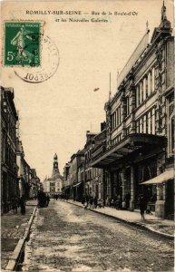 CPA ROMILLY-sur-SEINE Rue de la Boule d'Or Aube (100719)