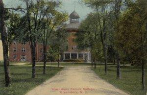 GREENSBORO , North Carolina, 1915; Greensboro Female College