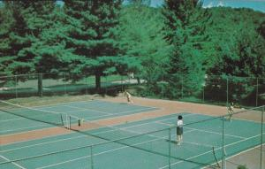 Tennis at YMCA Camp Coniston for Boys and Girls, Lake Coniston, Grantham, New...