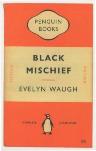 Black Mischief Evelyn Waugh 1951 Book Postcard