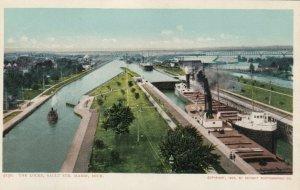 SAULT STE. MARIE, Michigan, 1901-07; The Locks