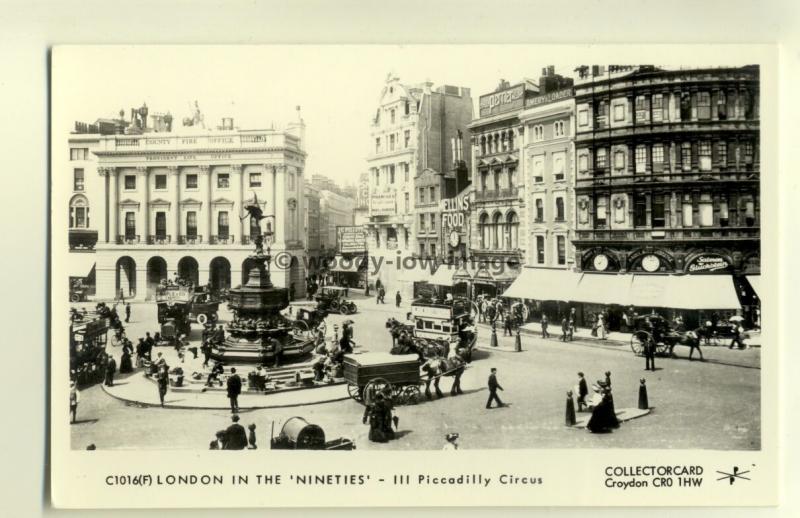 pp1345 - London - Piccadilly Circus - Pamlin postcard