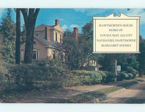 Pre-1980 WAYSIDE INN Concord Massachusetts MA L2512