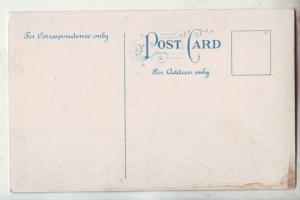 P1186 old postcard unused there is nothing doing for fellow who is doing nothing