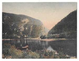 Delaware Water Gap PA Hausers Souvenir Store Hand Colored