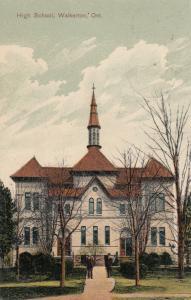 WALKERTON , Ontario , 1906 ; High School