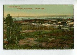 3144689 PORTUGAL MADEIRA Timber yards Vintage postcard