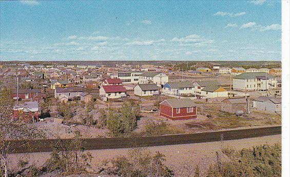 Canada General View Including St Patrick's Separate School Yellowknife Territ...