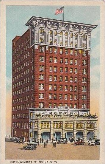 West Virginia Wheeling Hotel Windsor
