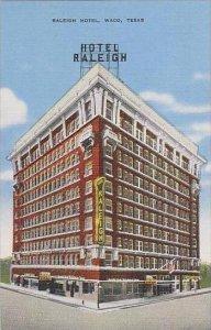 Texas Waco Raleigh Hotel