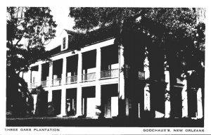 Louisiana New Orleans Chalmette Three Oaks Plantation Godchaux's