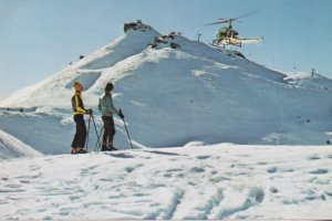 Coronet Peak Helicopter Queenstown Australia Postcard