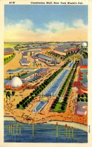 NY - New York World's Fair, 1939. Constitution Mall