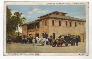 28 Panama CHRISTOBAL FIRE STATION 1930