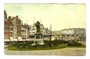Rotterdam , Netherlands, PU-1909; Standbeeld an Erasmus