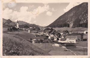 Post Card Austria Tirol Berwang mit Lechtaler Alpen