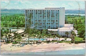 Americana of San Juan hotel, aerial view