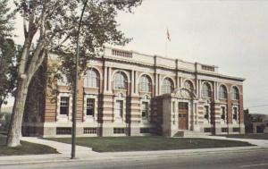 Exterior,  Court House,  Medicine Hat,  Alberta,  Canada,  40-60s